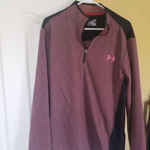 Under Armour mens 1/4 zip cold gear pullover XL